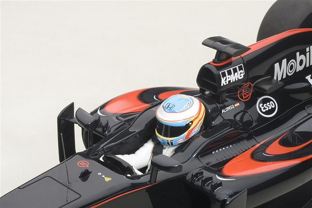 AUTOart: 2015 McLaren MP4-30 F1 Barcelona / Spain - F. Alonso #14 (18121) in 1:18 scale