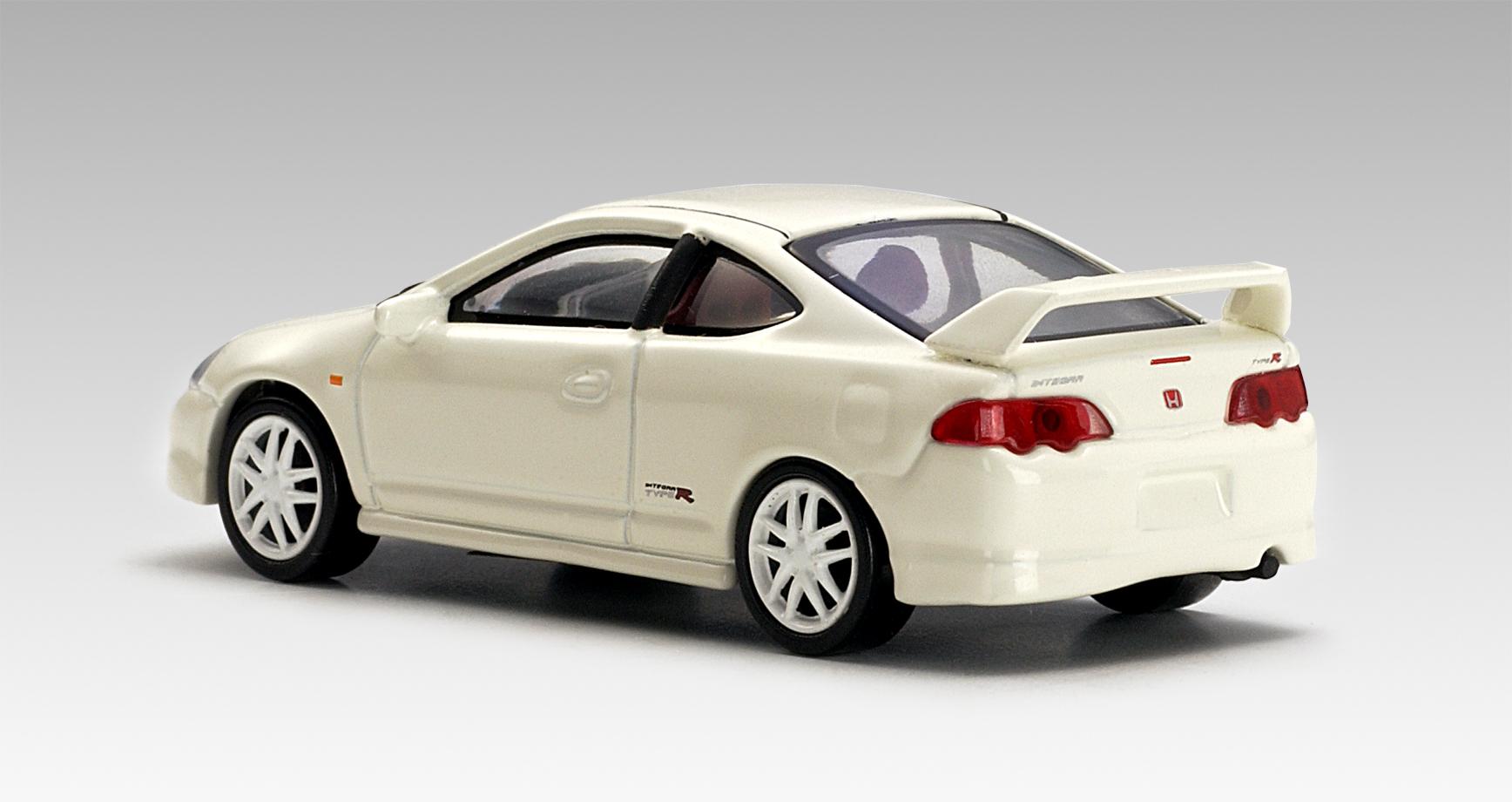 autoart honda integra type r white 20251 in 1 64 scale mdiecast