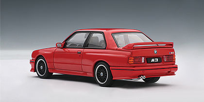 AUTOart: 1989 BMW M3 Evolution 'Cecotto' Edition - Red (50566) in 1:43 scale