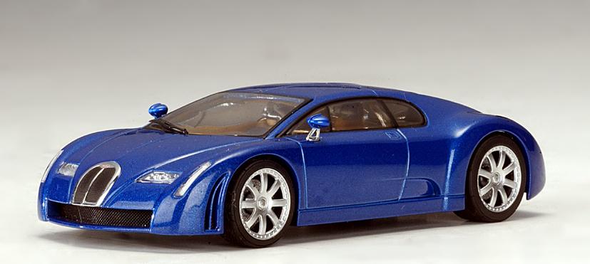 List Of Cars >> AUTOart: Bugatti Chiron - Blue (50911) in 1:43 scale - mDiecast