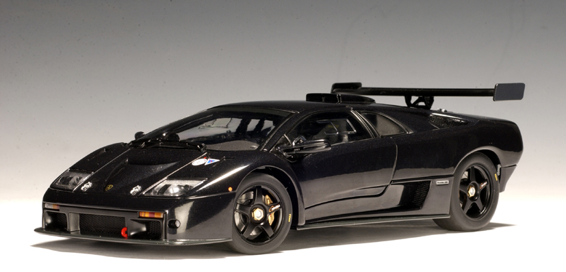 Autoart Lamborghini Diablo Gtr Black 54522 In 1 43