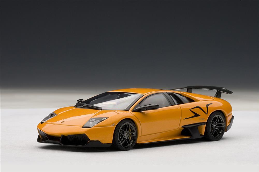Autoart Lamborghini Murcielago Lp670 4 Sv Arancio Atlas