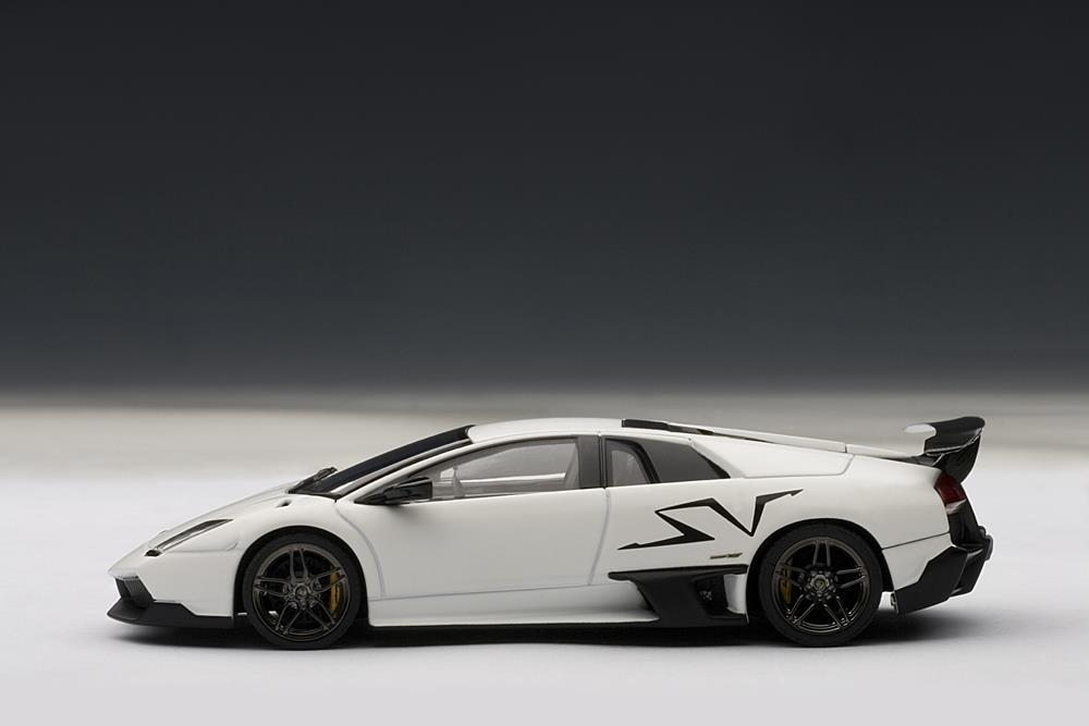 Autoart Lamborghini Murcielago Lp670 4 Sv Bianco Isis White