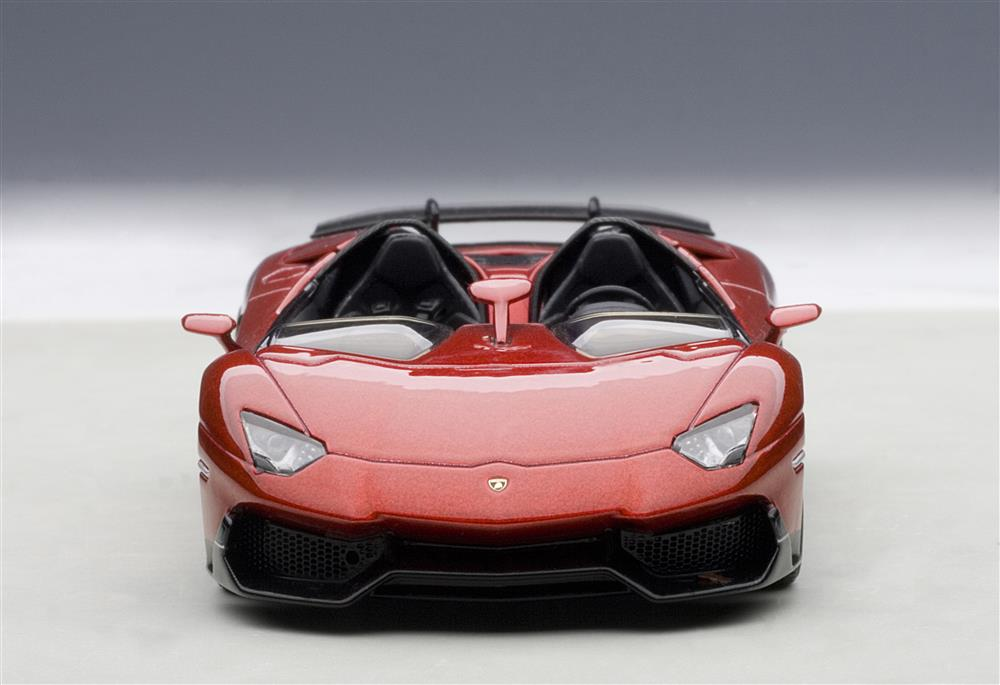 autoart lamborghini aventador j metallic red 54651 in 143 scale