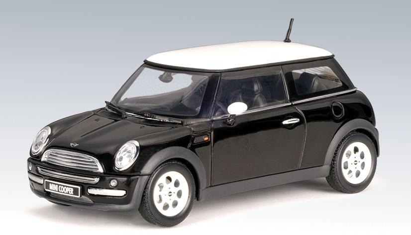 AUTOart: 2001 MINI Cooper - Black (54825) in 1:43 scale ...