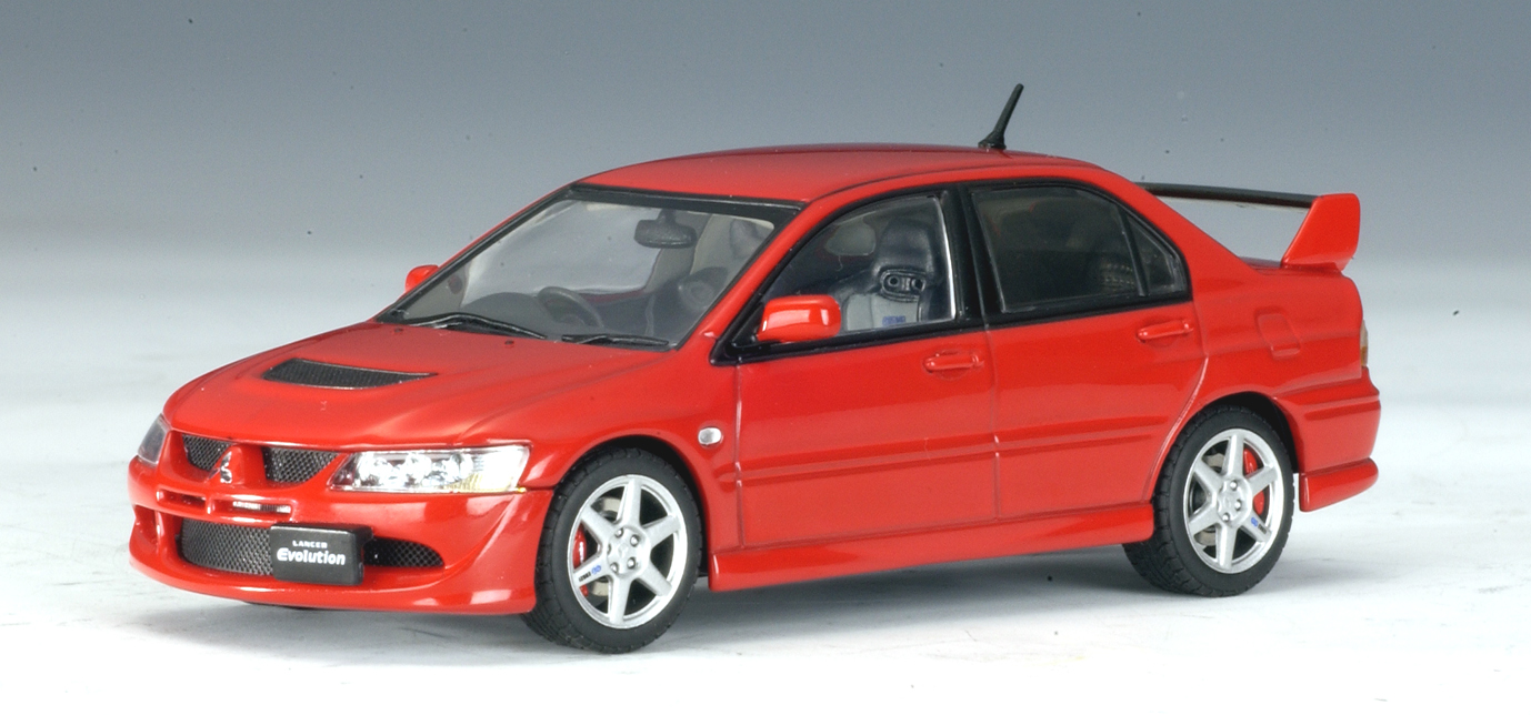 autoart mitsubishi lancer evo viii red 57181 in 1 43 scale mdiecast. Black Bedroom Furniture Sets. Home Design Ideas