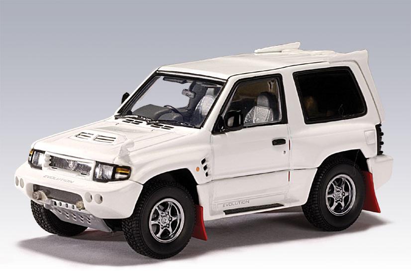Pajero 2018 Model >> AUTOart: 1998 Mitsubishi Pajero Evo - White (57201) in 1:43 scale - mDiecast