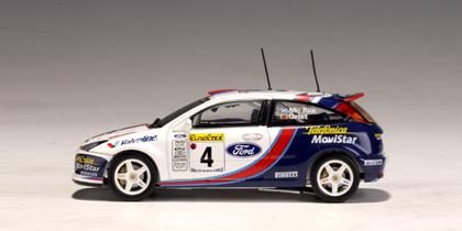Autoart 2001 Ford Focus Wrc C Sainz L Moya 3
