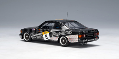 AUTOart: 1989 Mercedes-Benz 500 SEC AMG 24 HRS Race Spa Franchorchamps #6 (68932) in 1:43 scale