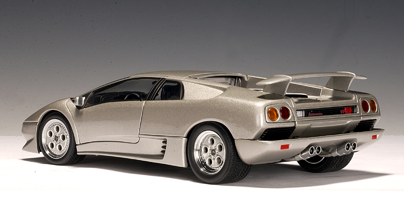 autoart lamborghini diablo coupe vt titanium silver 70071 in 1 18 scale mdiecast. Black Bedroom Furniture Sets. Home Design Ideas