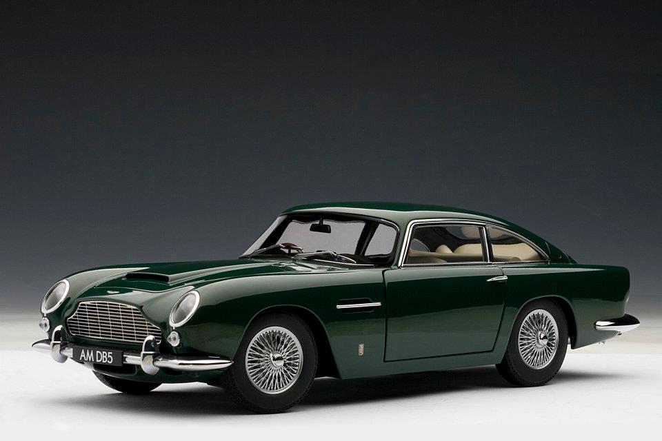 Autoart Aston Martin Db5 Green 70212 In 1 18 Scale