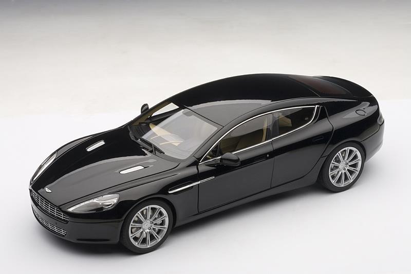 Autoart Aston Martin Rapide Black 70216 Im 1 18 Maßstab Mdiecast