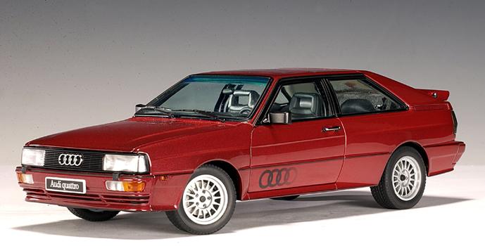 List Of Cars >> AUTOart: 1988 Audi Quattro LWB - Tizianred Metallic (70304) in 1:18 scale - mDiecast