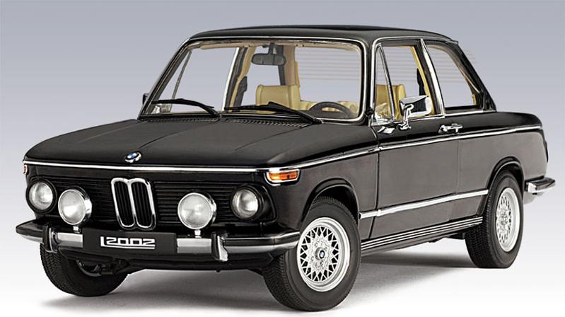Autoart 1974 Bmw 2002 Tii L Black 70503 In 1 18 Scale