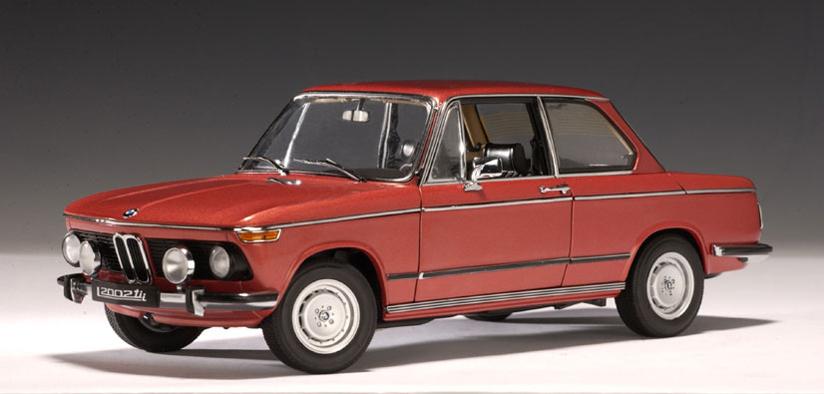 Autoart 1974 Bmw 2002 Tii L Red Metallic 70504 In 1