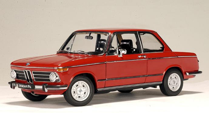 List Of Cars >> AUTOart: BMW 2002 tii - Granadared (70509) in 1:18 scale ...
