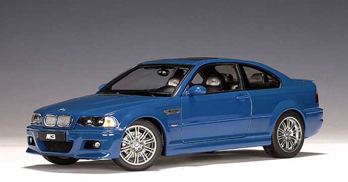2001 BMW M3 Coupe - Laguna SECA Blau Uni