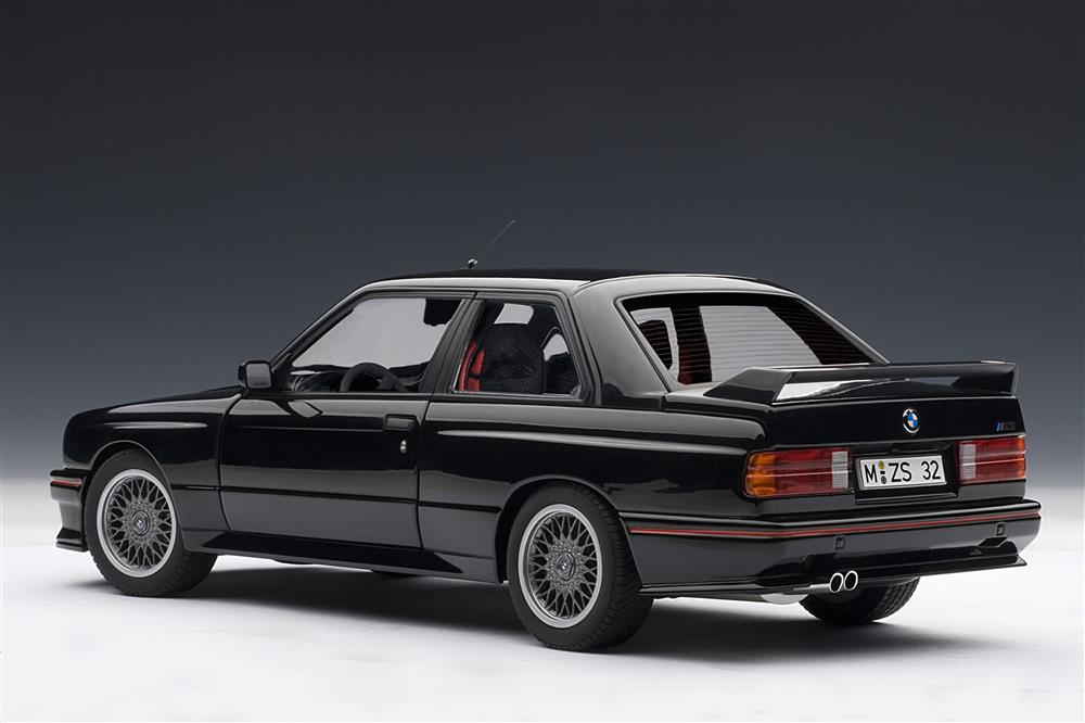Autoart 1990 Bmw M3 E30 Sport Evolution Black 70562