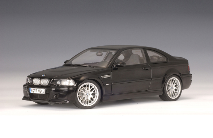 AUTOart: BMW M3 CSL - Black Sapphire Metallic (70662) in 1 ...