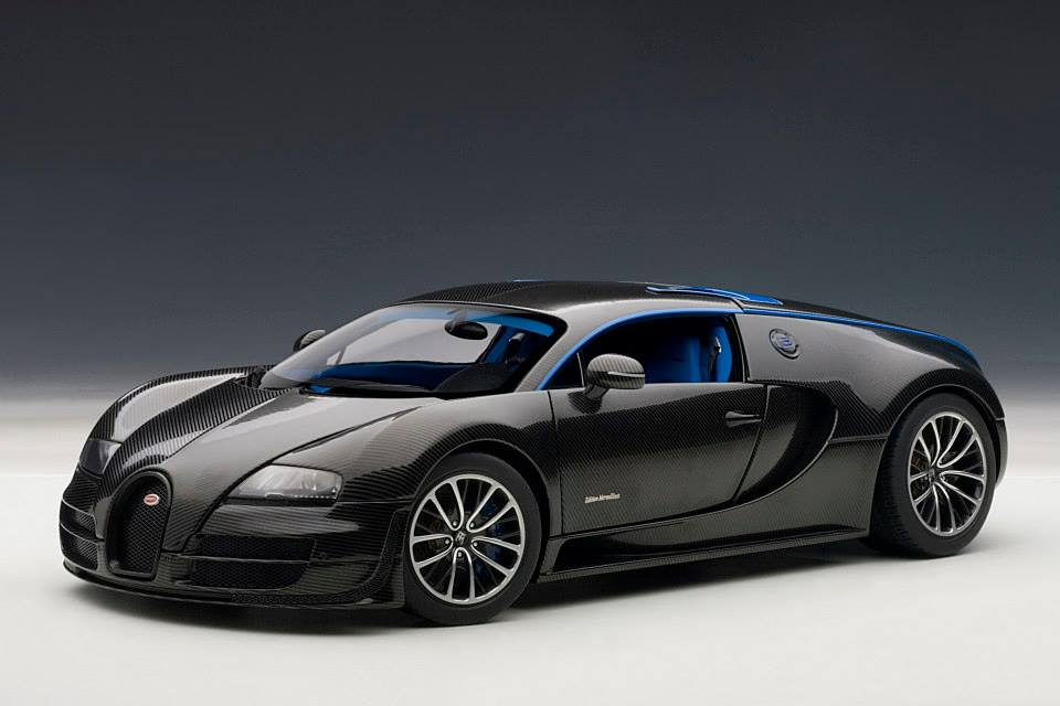 autoart bugatti veyron super sport edition merveilleux black 70934 in 1 18 scale mdiecast. Black Bedroom Furniture Sets. Home Design Ideas
