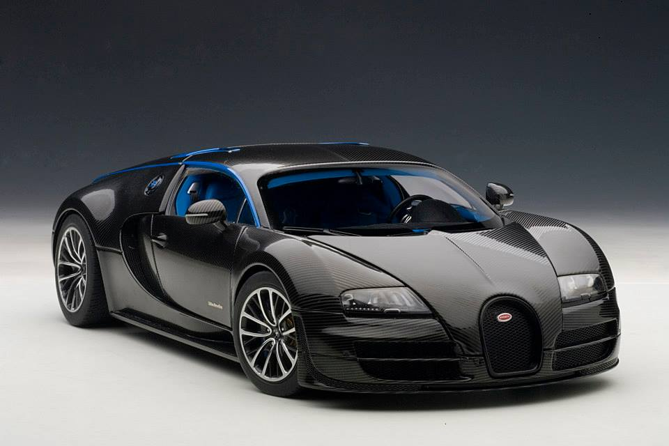autoart bugatti veyron super sport edition merveilleux black 70934 in 1. Black Bedroom Furniture Sets. Home Design Ideas
