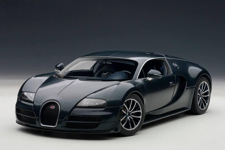 autoart bugatti veyron super sport dark blue 70938 in. Black Bedroom Furniture Sets. Home Design Ideas