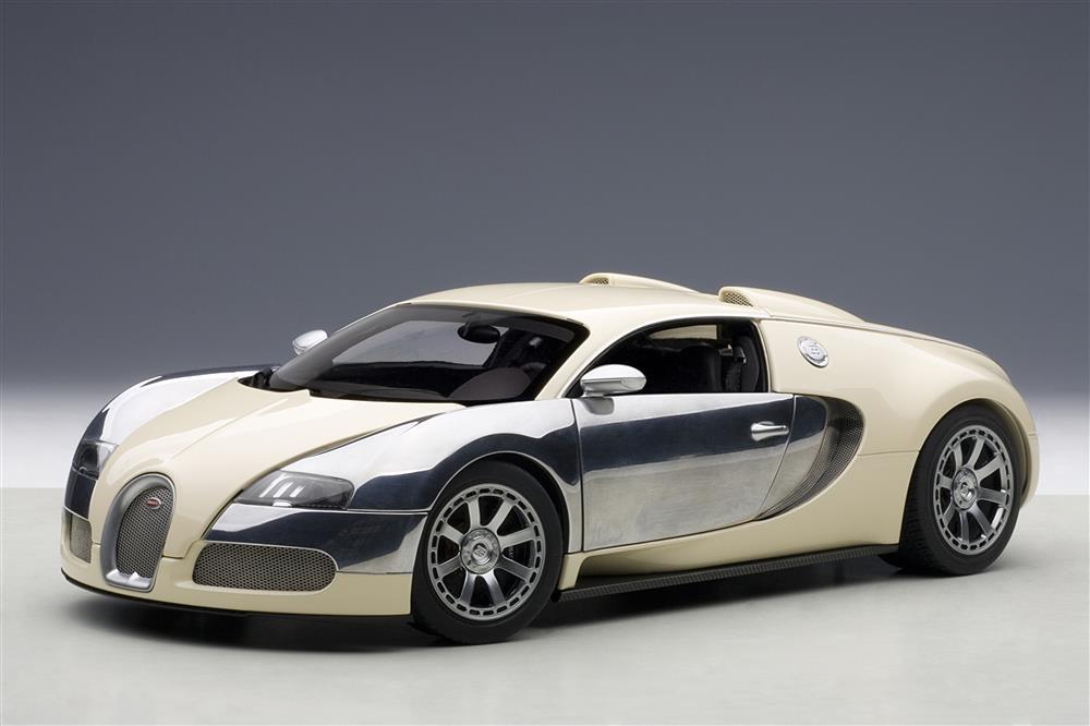 autoart: 2009 bugatti eb veyron 16.4 l'edition centenaire - white