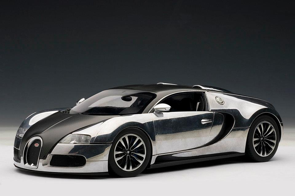 autoart 2008 bugatti eb veyron 16 4 pur sang black aluminium casting 70966 in 1 18 scale. Black Bedroom Furniture Sets. Home Design Ideas