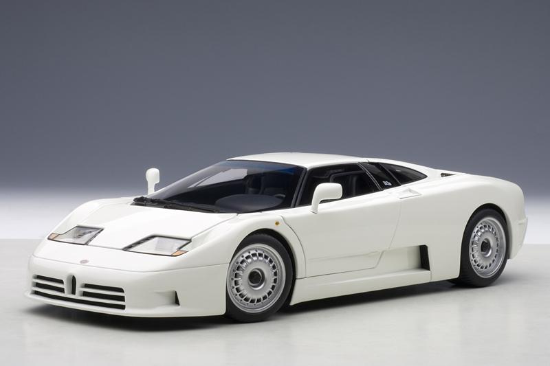 autoart 1991 bugatti eb110 gt white 70978 in 1 18 scale mdiecast. Black Bedroom Furniture Sets. Home Design Ideas