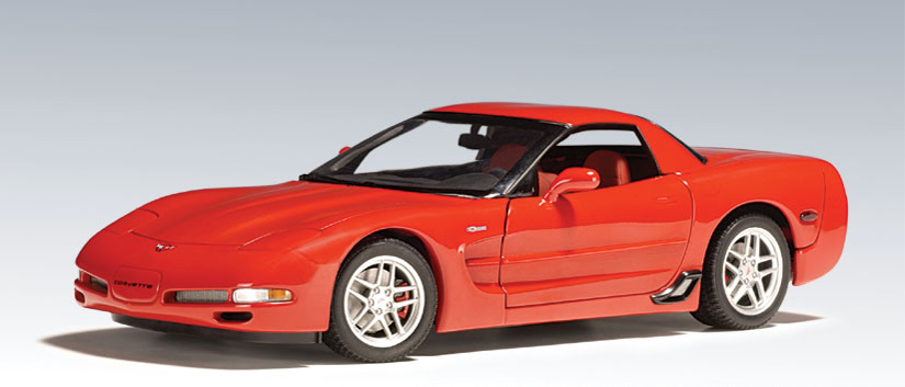 Chevrolet corvette z06 torch red 71061 in 1 18 scale mdiecast