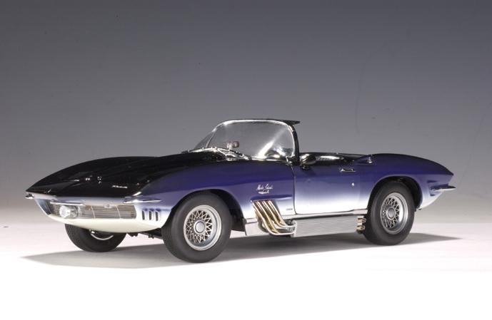 1961 Corvette For Sale >> AUTOart: 1961 Chevrolet Corvette Mako Shark - Blue (71131 ...