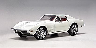 AUTOart: 1970 Chevrolet Corvette - Classis White (71171 ...