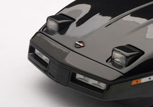 AUTOart: 1986 Chevrolet Corvette - Black (71242) in 1:18 scale