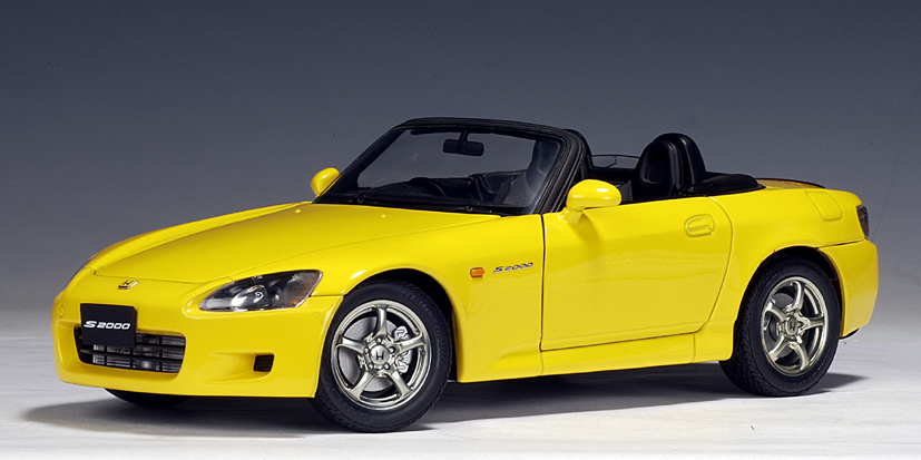 Autoart Honda S2000 Rhd Yellow Japanese Version