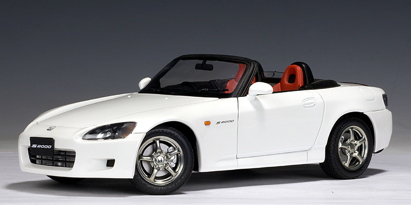 Honda S2000 (RHD) - White (Japanese Version)