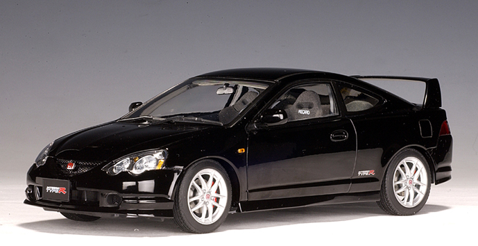 Owners Honda Com >> AUTOart: Honda Integra Type R (RHD) - Black (73242) in 1:18 scale - mDiecast