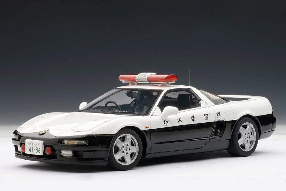 autoart honda nsx 1990 japanese police car 73274 in 1 18 scale mdiecast. Black Bedroom Furniture Sets. Home Design Ideas