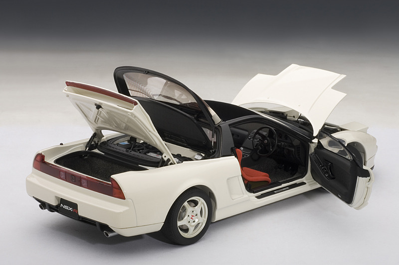 autoart 1992 honda nsx type r championship white 73296. Black Bedroom Furniture Sets. Home Design Ideas
