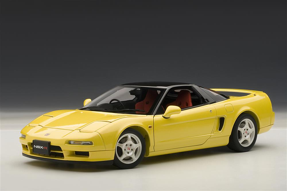 Honda 2018 Model >> AUTOart: 1992 Honda NSX Type R - Indy Yellow Pearl (73297) in 1:18 scale - mDiecast