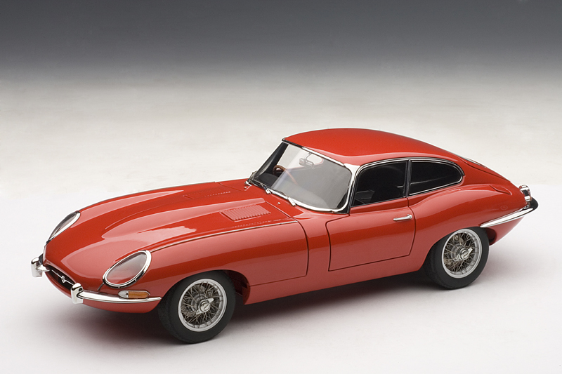 autoart jaguar e type coupe series i 3 8 red 73614 in 1 18 scale mdiecast. Black Bedroom Furniture Sets. Home Design Ideas