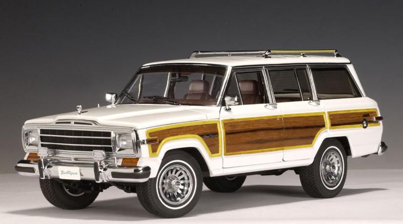2018 Jeep Grand Wagoneer >> AUTOart: 1989 Jeep Grand Wagoneer - White (74001) in 1:18 ...