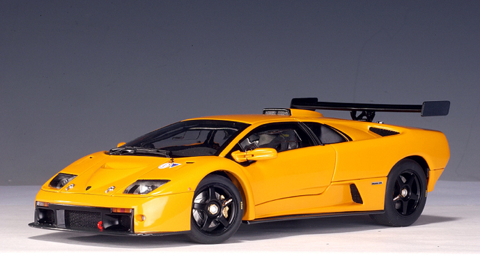 Lamborghini Diablo Gtr Group Gt 2000 Racing Cars