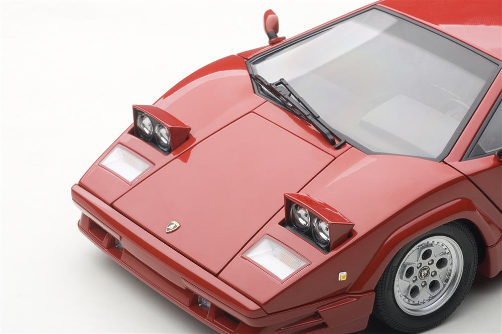 autoart lamborghini countach 25th anniversary edition red 74534 in 1 18. Black Bedroom Furniture Sets. Home Design Ideas