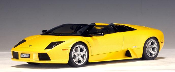 Autoart Lamborghini Murcielago Concept Car Barchetta Metallic