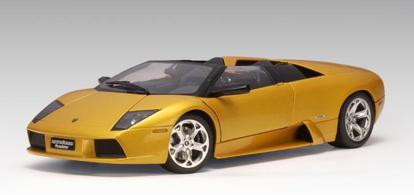 Autoart Lamborghini Murcielago Roadster Gold 74566 In