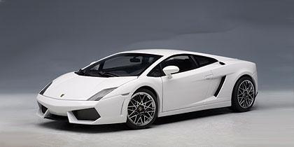 Cars By Us >> AUTOart: Lamborghini Gallardo LP560-4 - Monocerus/Metallic White (74587) in 1:18 scale - mDiecast