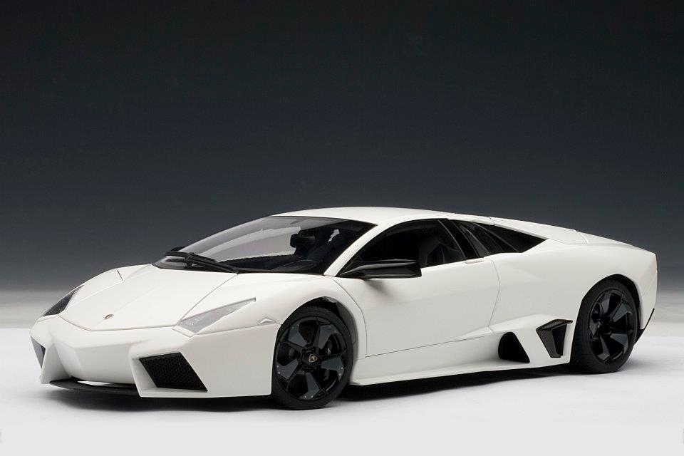 List Of Car Brands >> AUTOart: Lamborghini Reventon - Matt White (74594) in 1:18 ...