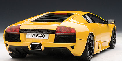 AUTOart: 2006 Lamborghini Murcielago LP640 - Giallo Orion/Yellow (74621) in 1:18 scale