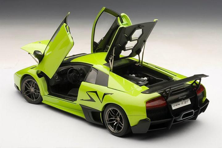 Autoart Lamborghini Murcielago Lp670 4 Sv Green Ithaca Green