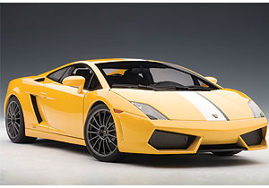 AUTOart: 2009 Lamborghini Gallardo LP550-2 Balboni - Giallo Midas/Yellow (74632) in 1:18 scale